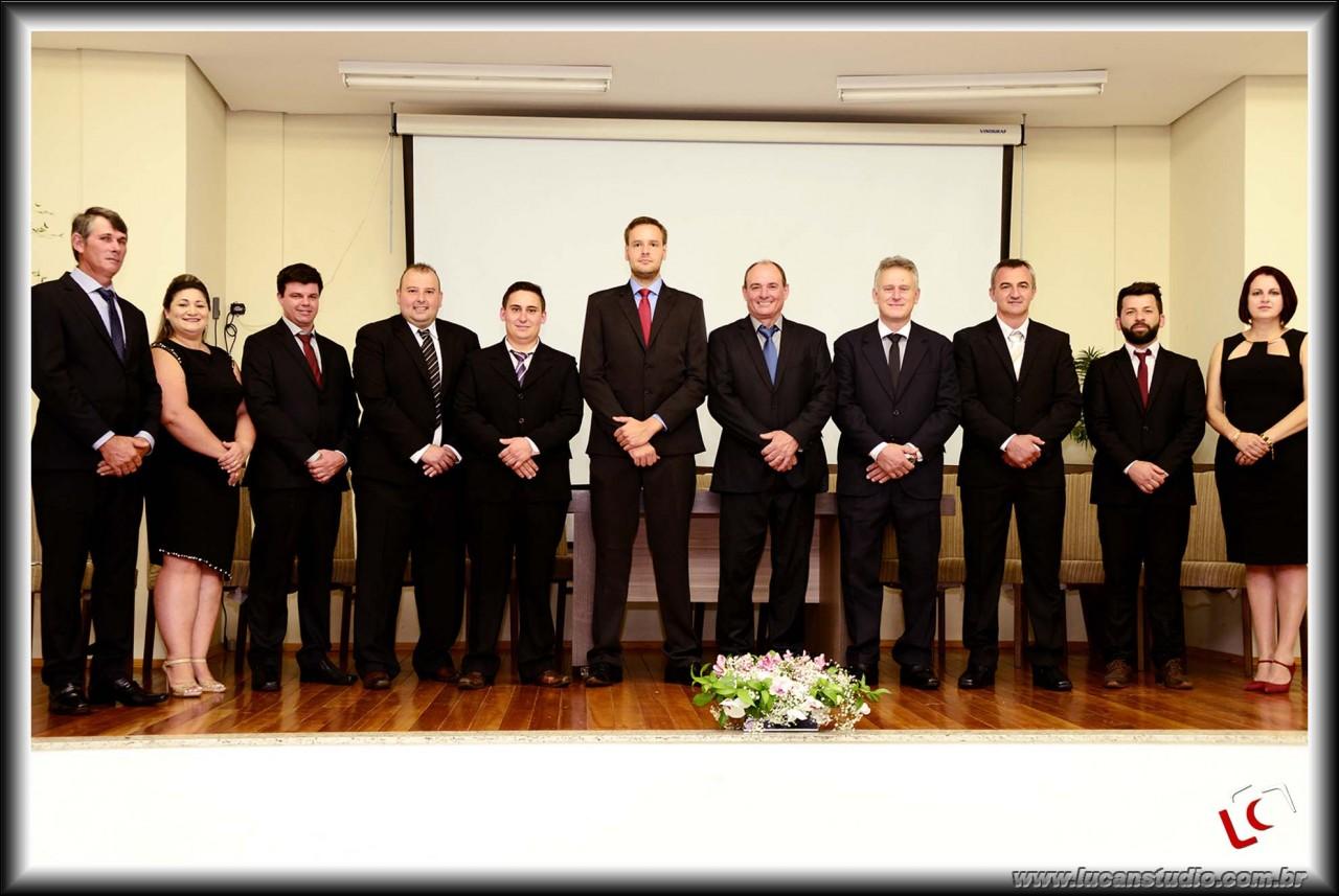 Realizada a Sessão Solene de Instalação da 8ª Legislatura e Posse dos Eleitos no Município de Taquaruçu do Su-RS.