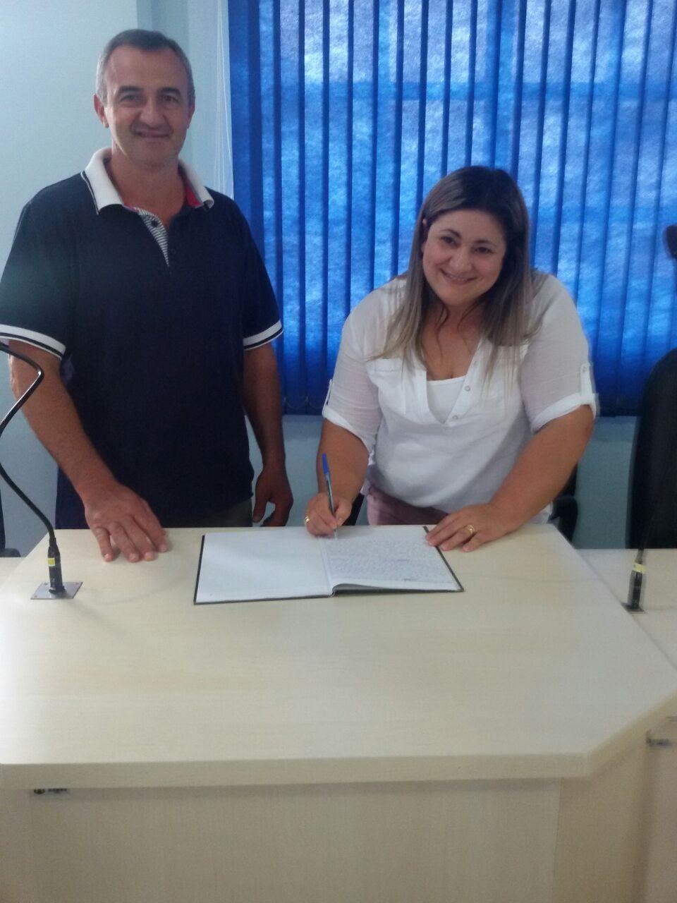 Vice-Presidente Gerson Luís da Rosa assume o Legislativo Municipal