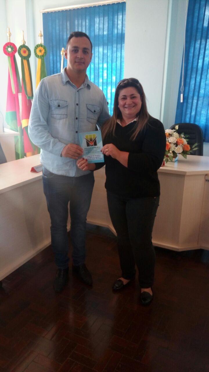 Presidente do Legislativo recebe visita do Presidente da ACVERMAU