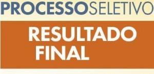 DIVULGADO O RESULTADO FINAL DO PROCESSO SELETIVO SIMPLIFICADO