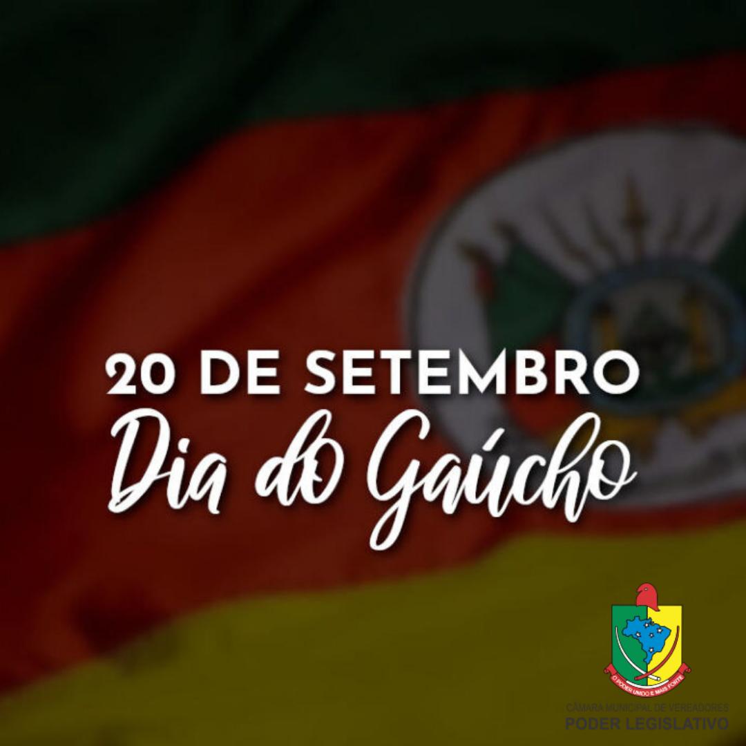 20 de setembro - Dia do Gaúcho